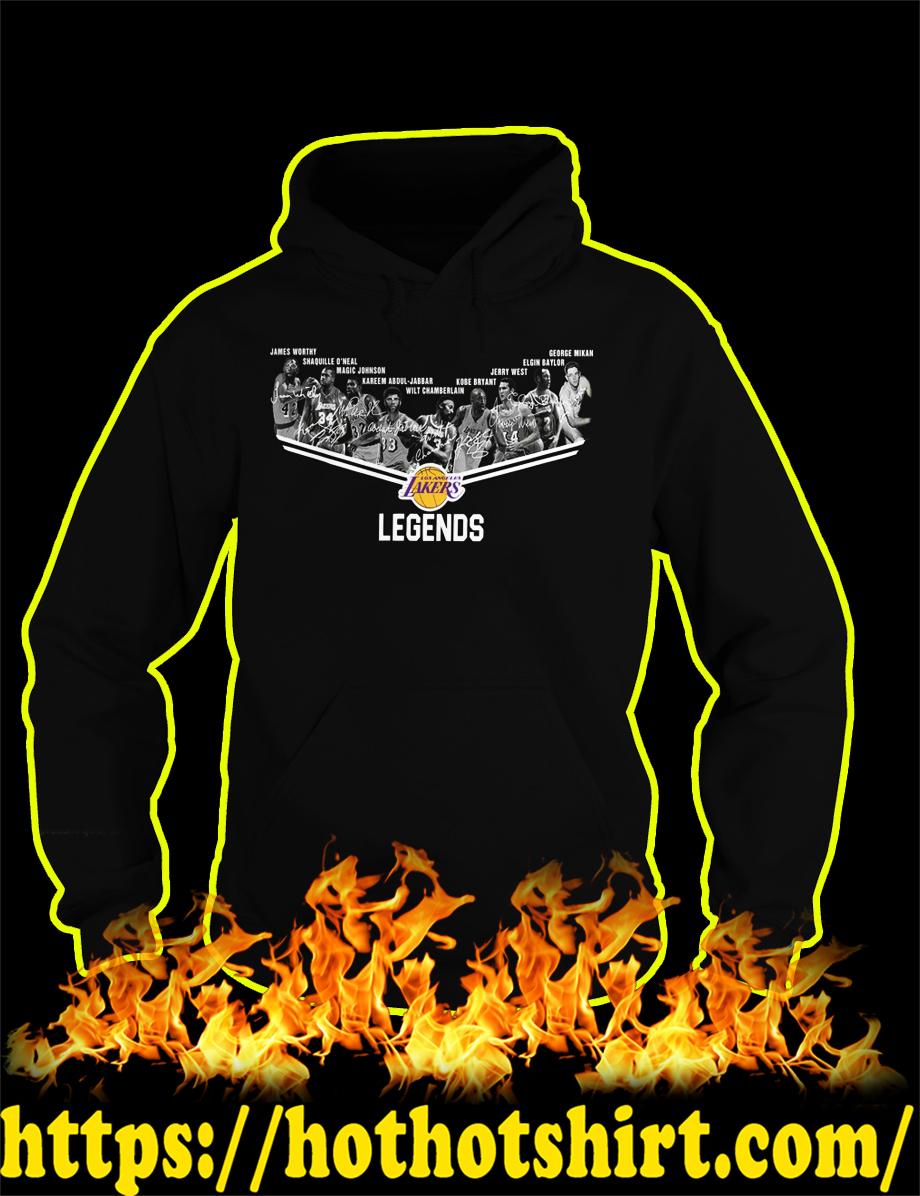 Los Angeles Lakers Legends Players hoodie