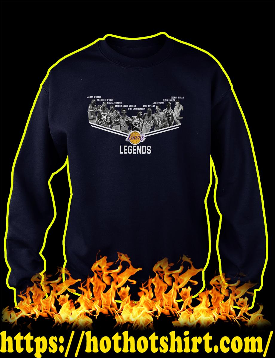 Los Angeles Lakers Legends Players sweatshirt