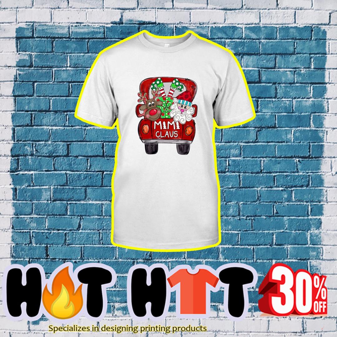 MiMi Claus Reindeer Santa Christmas shirt