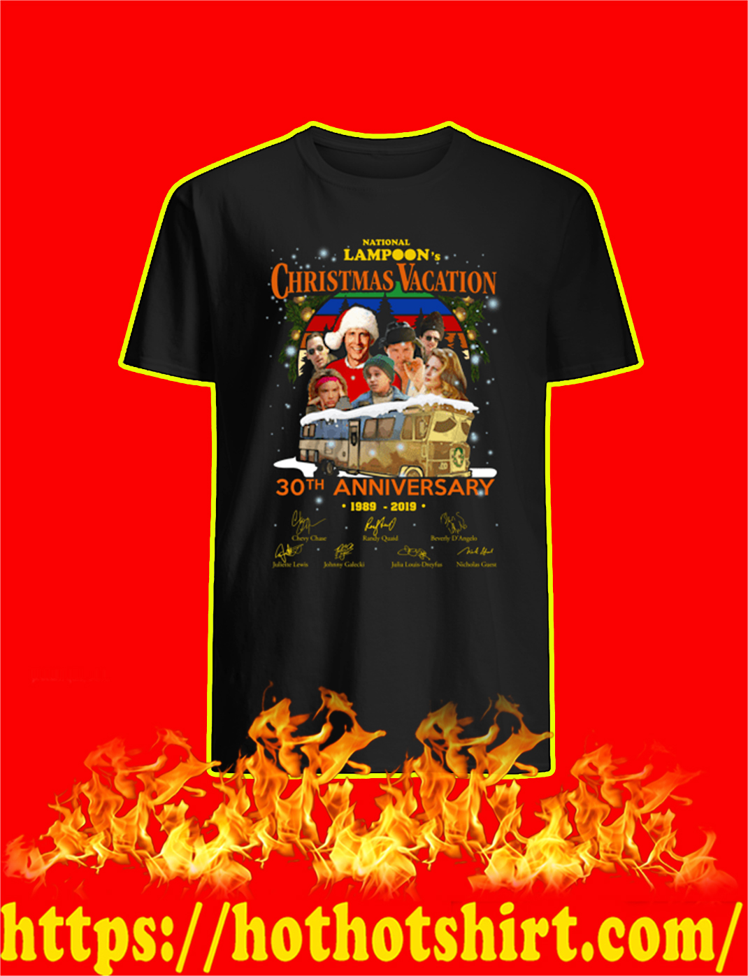 National Lampoon's Christmas Vacation 30th Anniversary 1989 2019 shirt