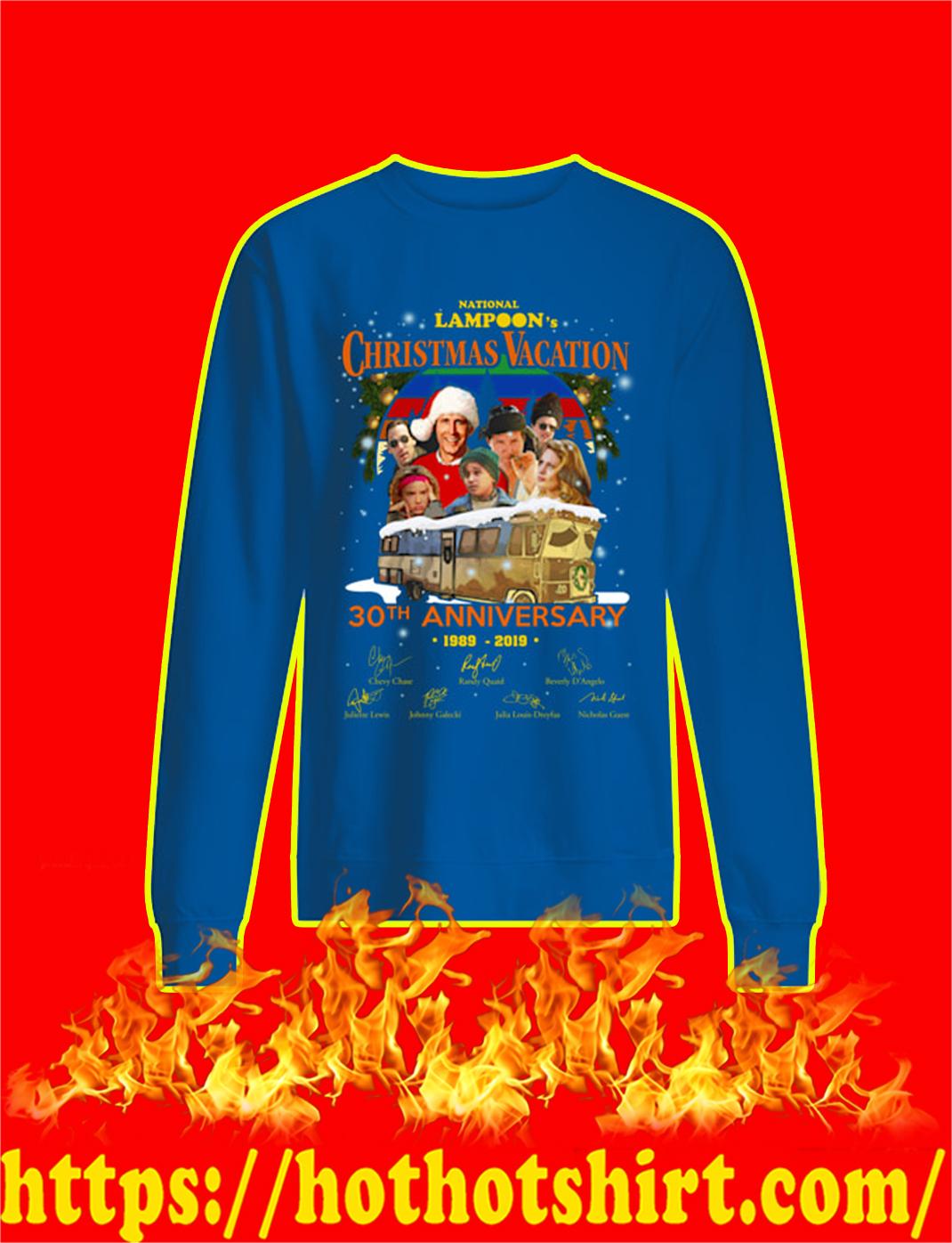 National Lampoon's Christmas Vacation 30th Anniversary 1989 2019 sweatshirt