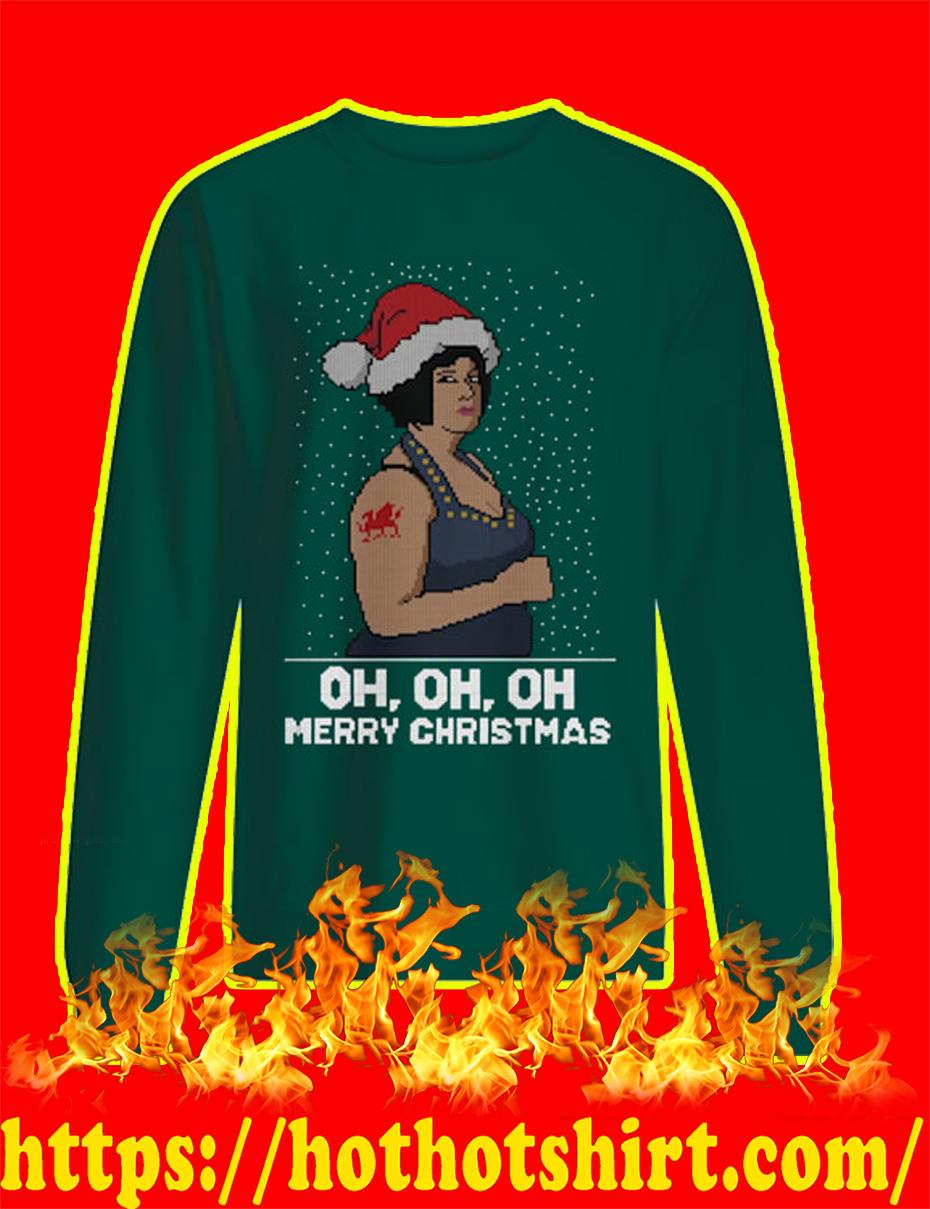 Nessa Oh Merry Christmas Jumper - green