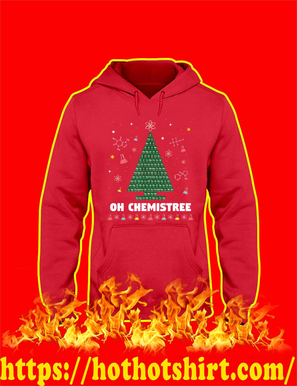 Oh Chemistree Christmas hoodie