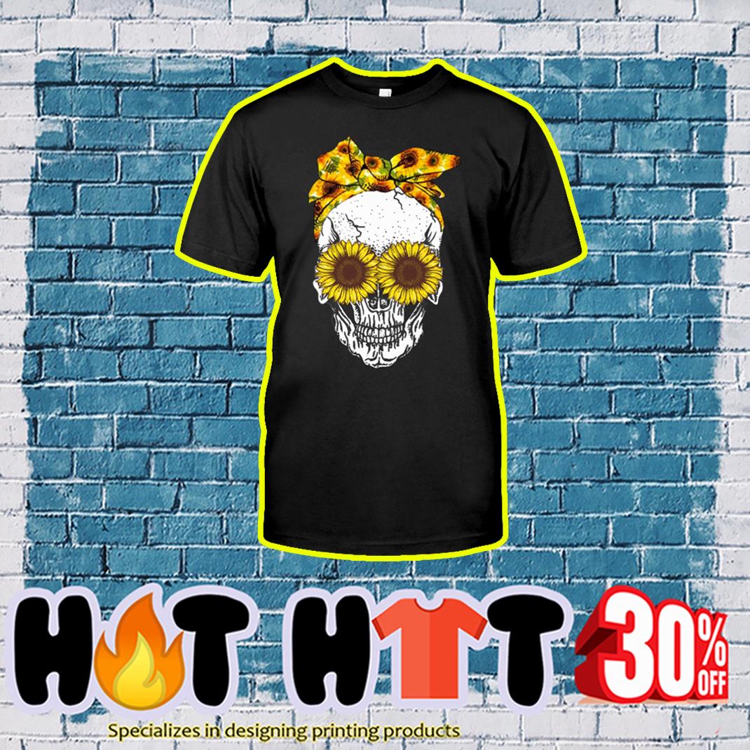Skull And Sunflower shirt