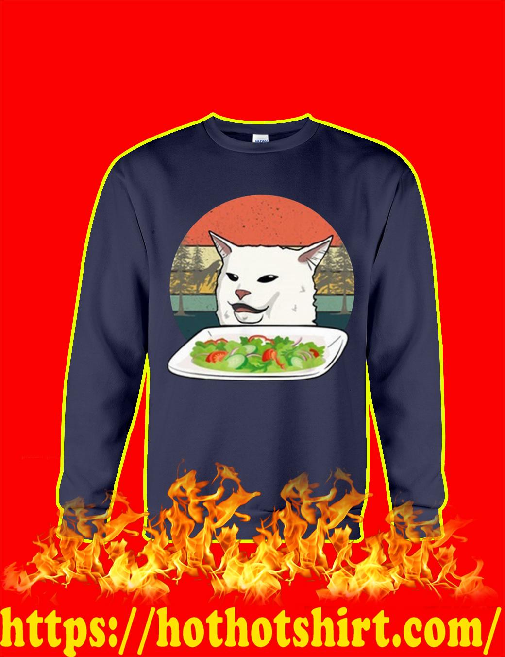 Smudge the Cat Meme sweatshirt