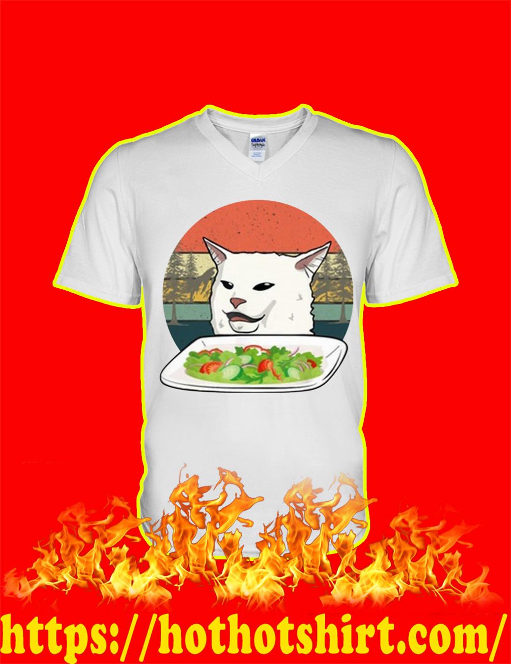 Smudge the Cat Meme v-neck