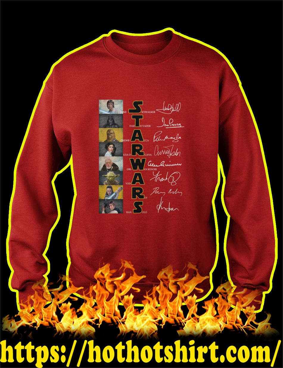 Star Wars Holiday Special Characters sweatshirt