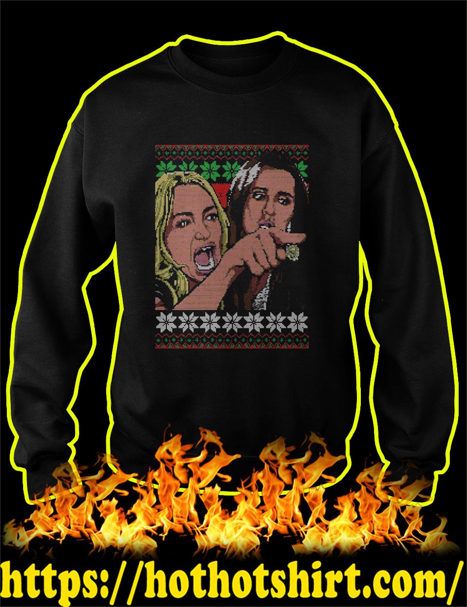 Taylor Armstrong Woman Yelling Meme Ugly Christmas Sweater