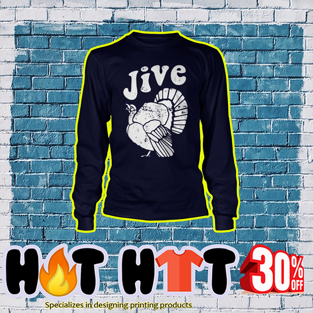 Thanksgiving Jive Turkey longsleeve tee