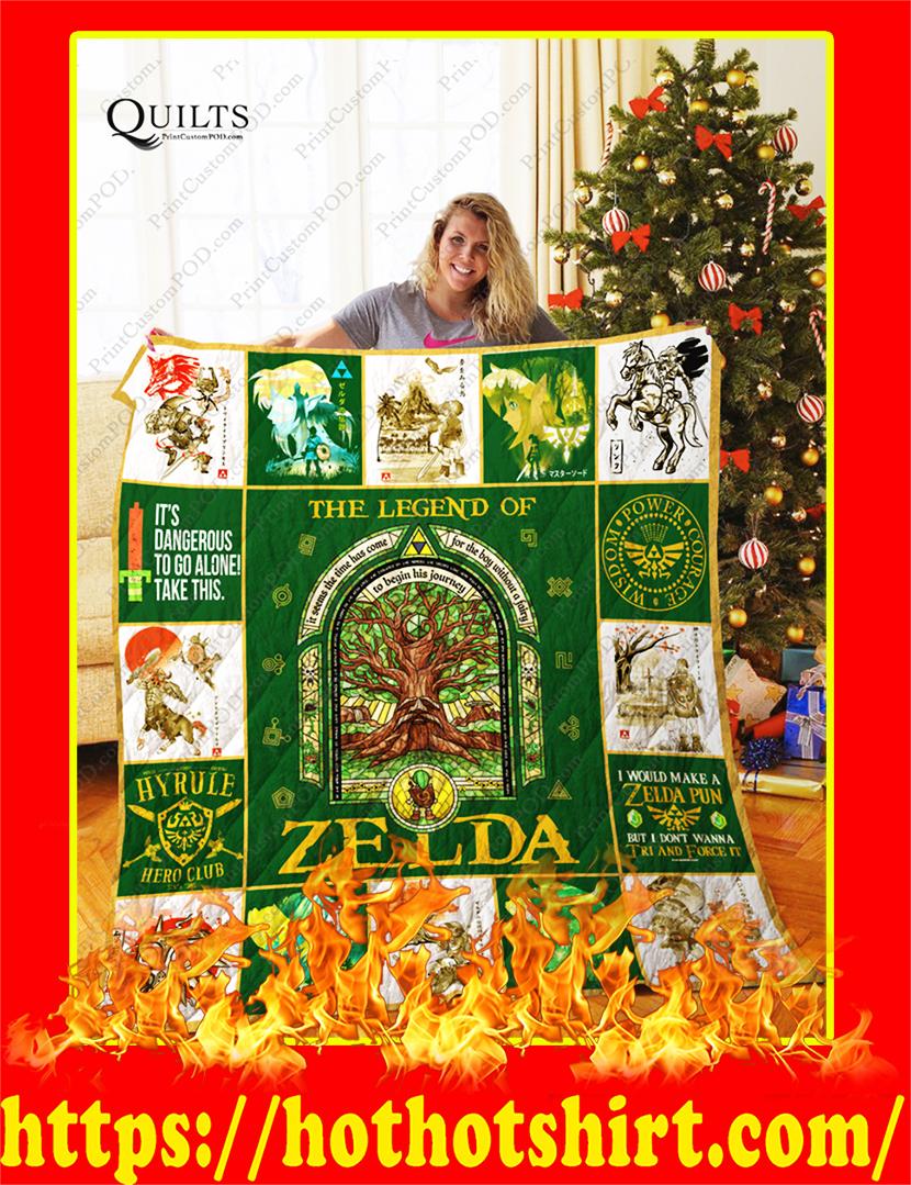 The Legend of Zelda Quilt-King