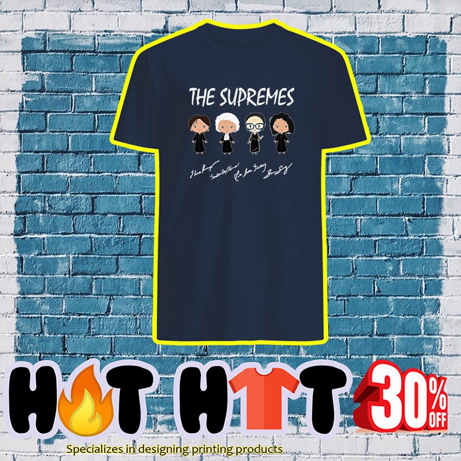 The Supremes Signature guy shirt