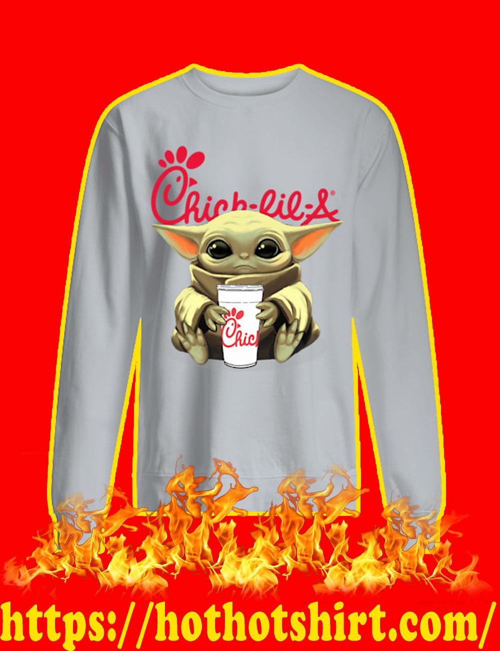 Baby Yoda Chick-fil-A sweatshirt