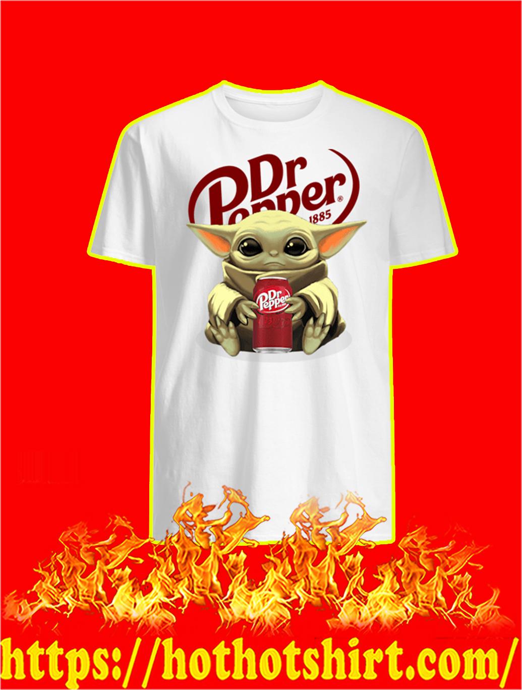 Baby Yoda Dr Pepper shirt