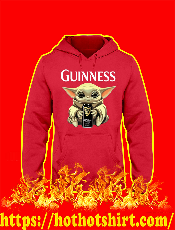 Baby Yoda Hug Guinness hoodie