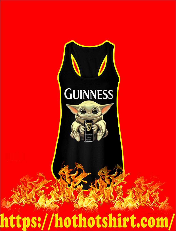 Baby Yoda Hug Guinness tank top