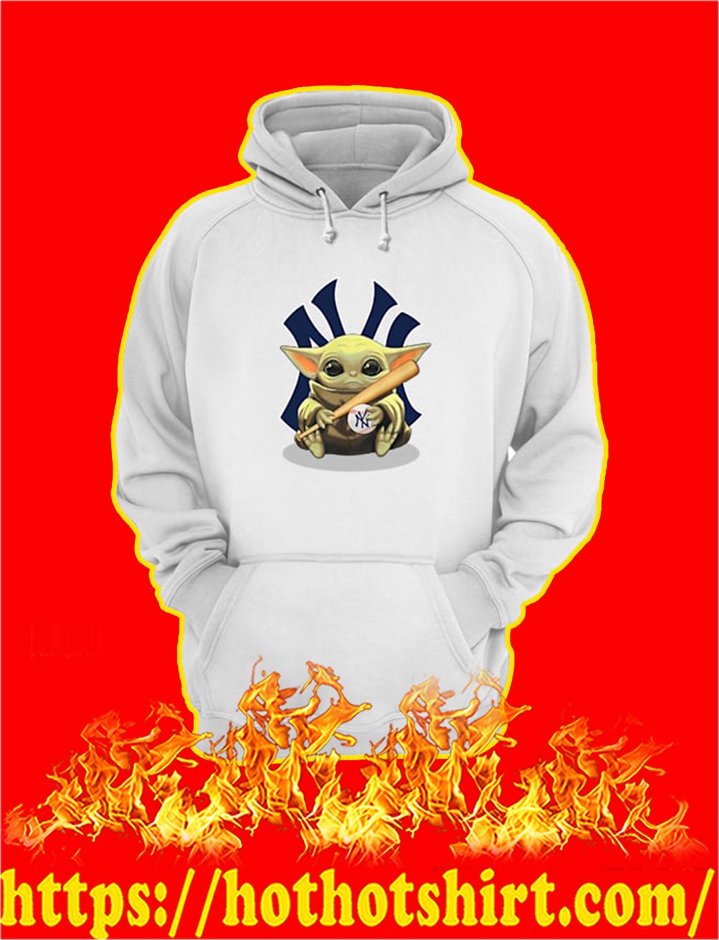 Baby Yoda Hug New York Yankees hoodie