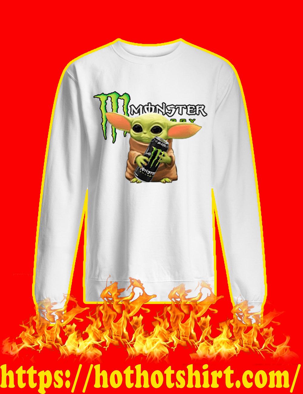 Baby Yoda Monster Energy sweatshirt