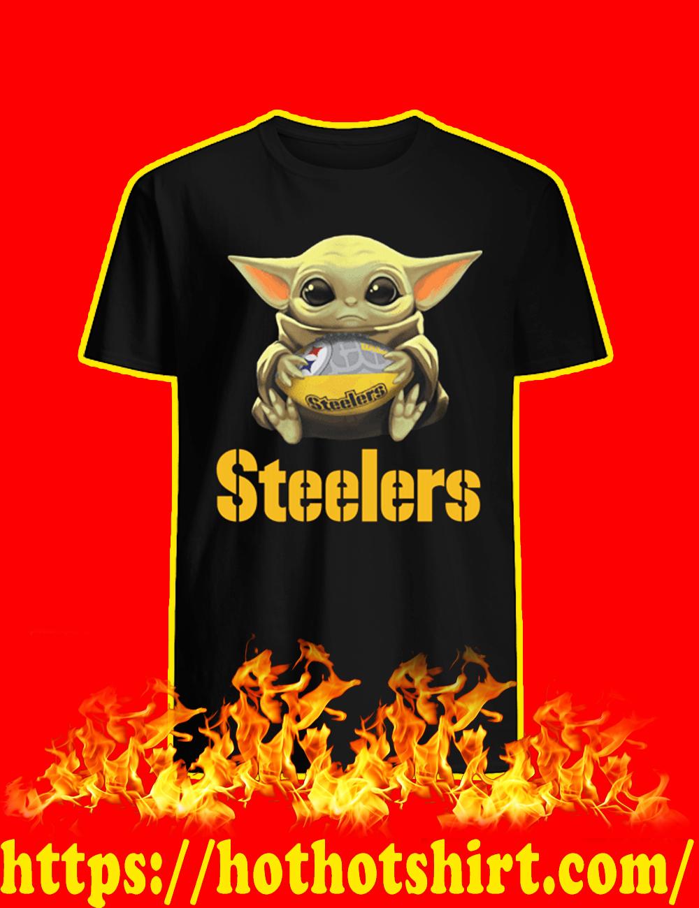 Baby Yoda Pittsburgh Steelers shirt