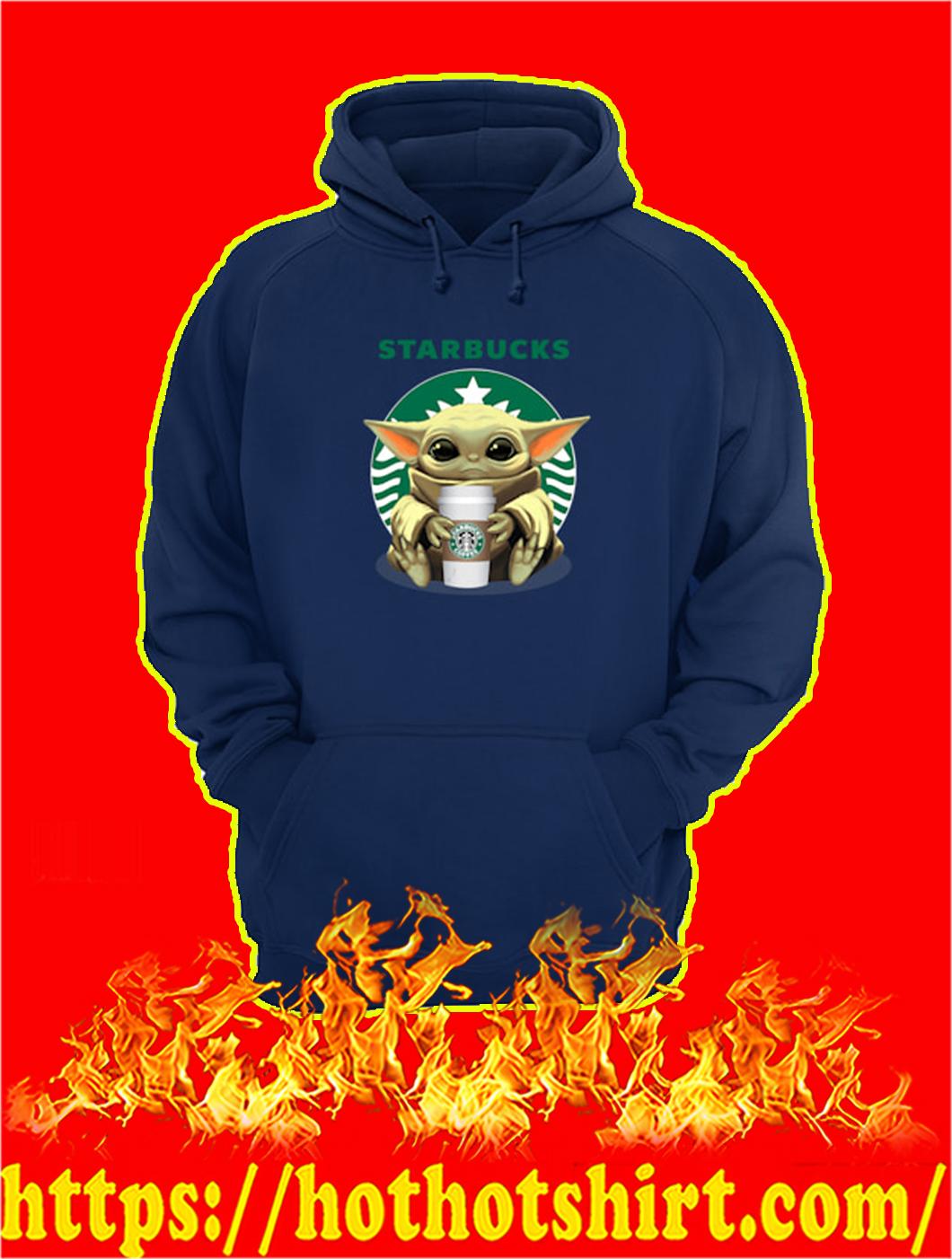 Baby Yoda Starbucks hoodie