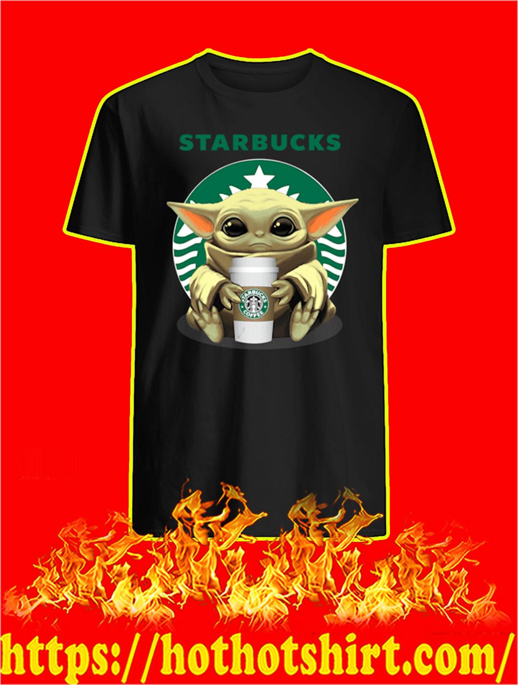Baby Yoda Starbucks shirt
