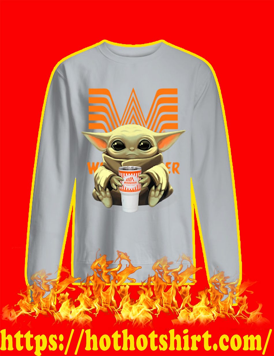 Baby Yoda Whataburger sweatshirt