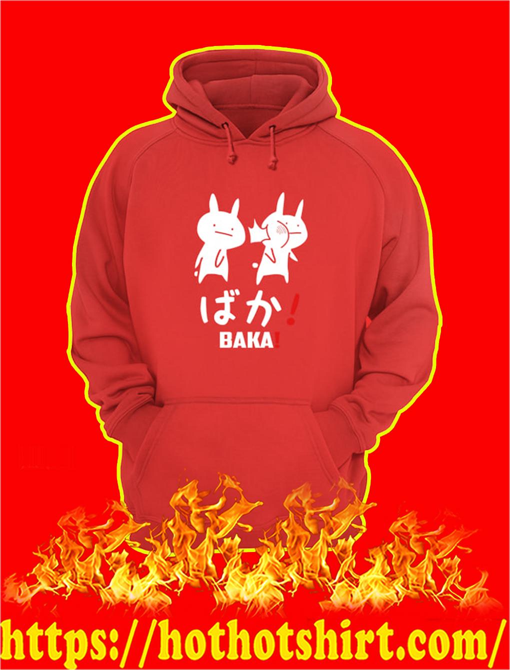 Baka Rabbit Slap Japanese hoodie