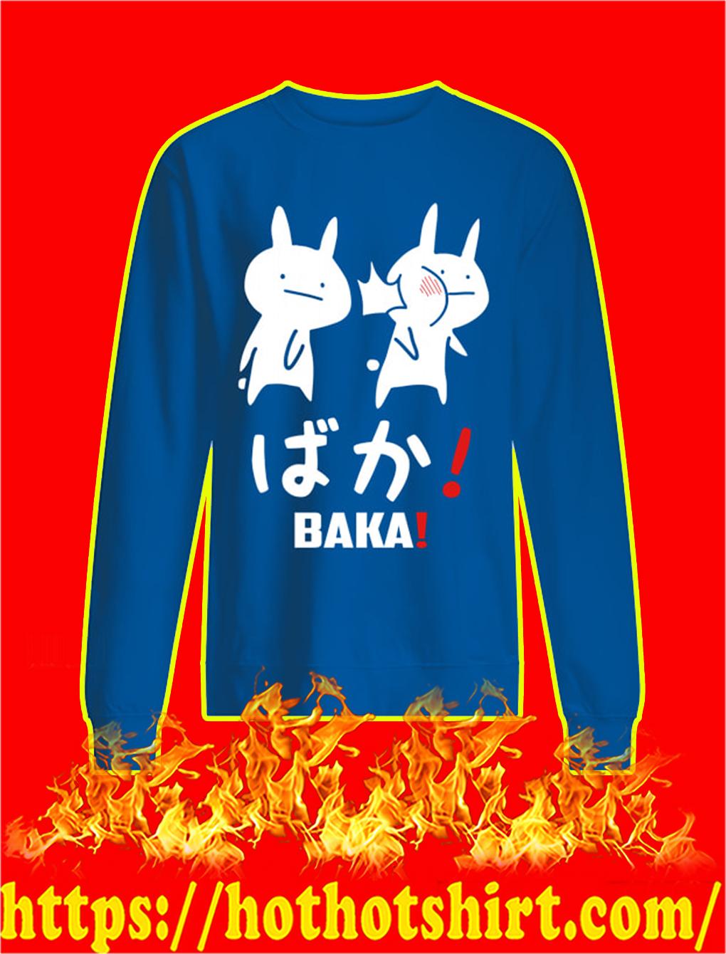 Baka Rabbit Slap Japanese sweatshirt