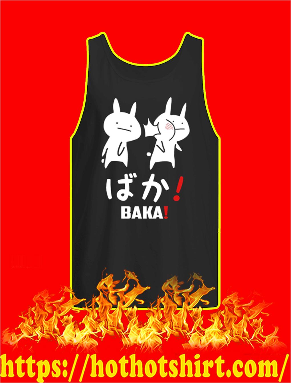 Baka Rabbit Slap Japanese tank top