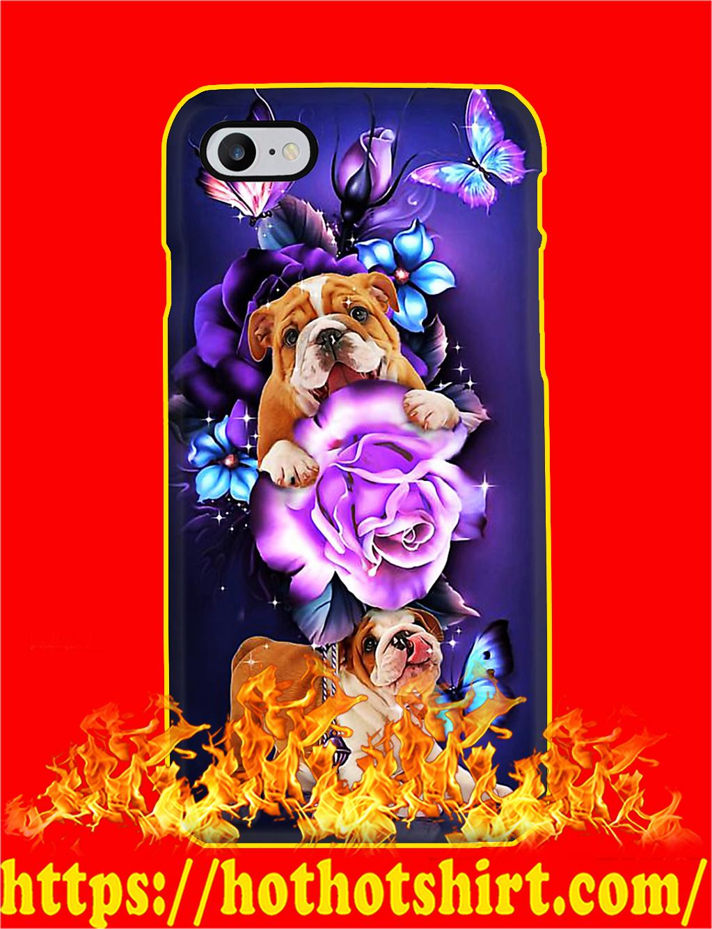 Bulldog Butterfly Magical Phone Case- iphone 8