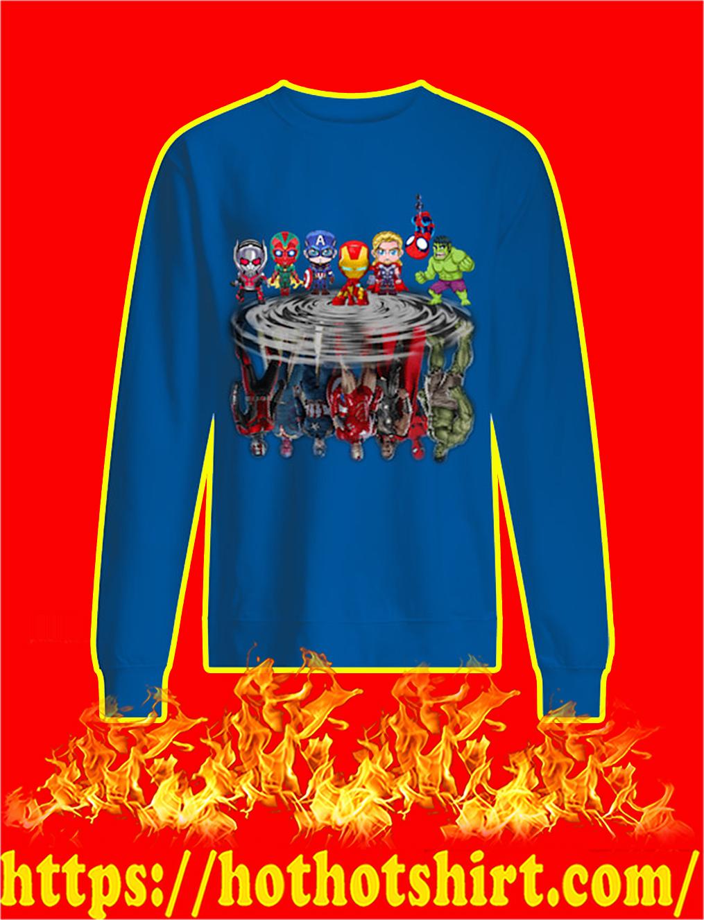Chibi Avengers Reflection sweatshirt