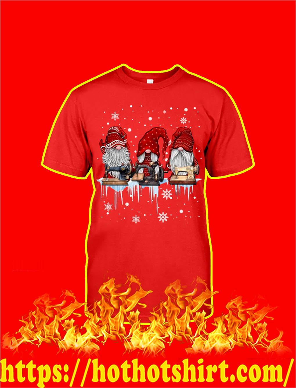 Christmas Gnome Sewing shirt