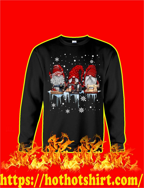 Christmas Gnome Sewing sweatshirt