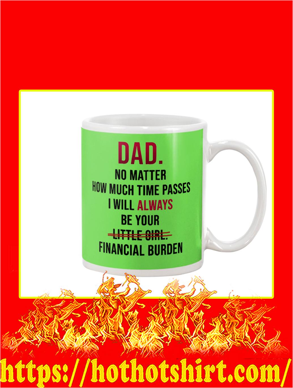 Dad No Matter How Much Time Passes Mug- kiwi