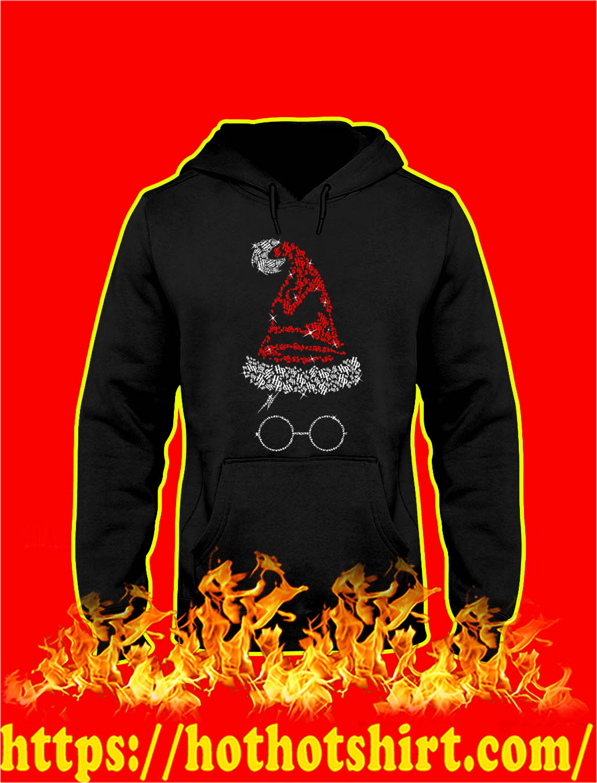 Harry Potter Santa Hat Christmas hooded sweatshirt