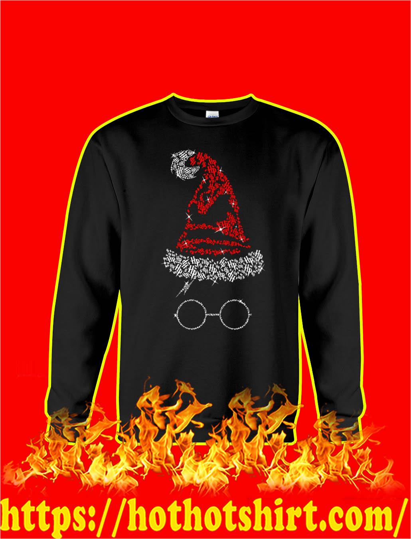 Harry Potter Santa Hat Christmas sweatshirt