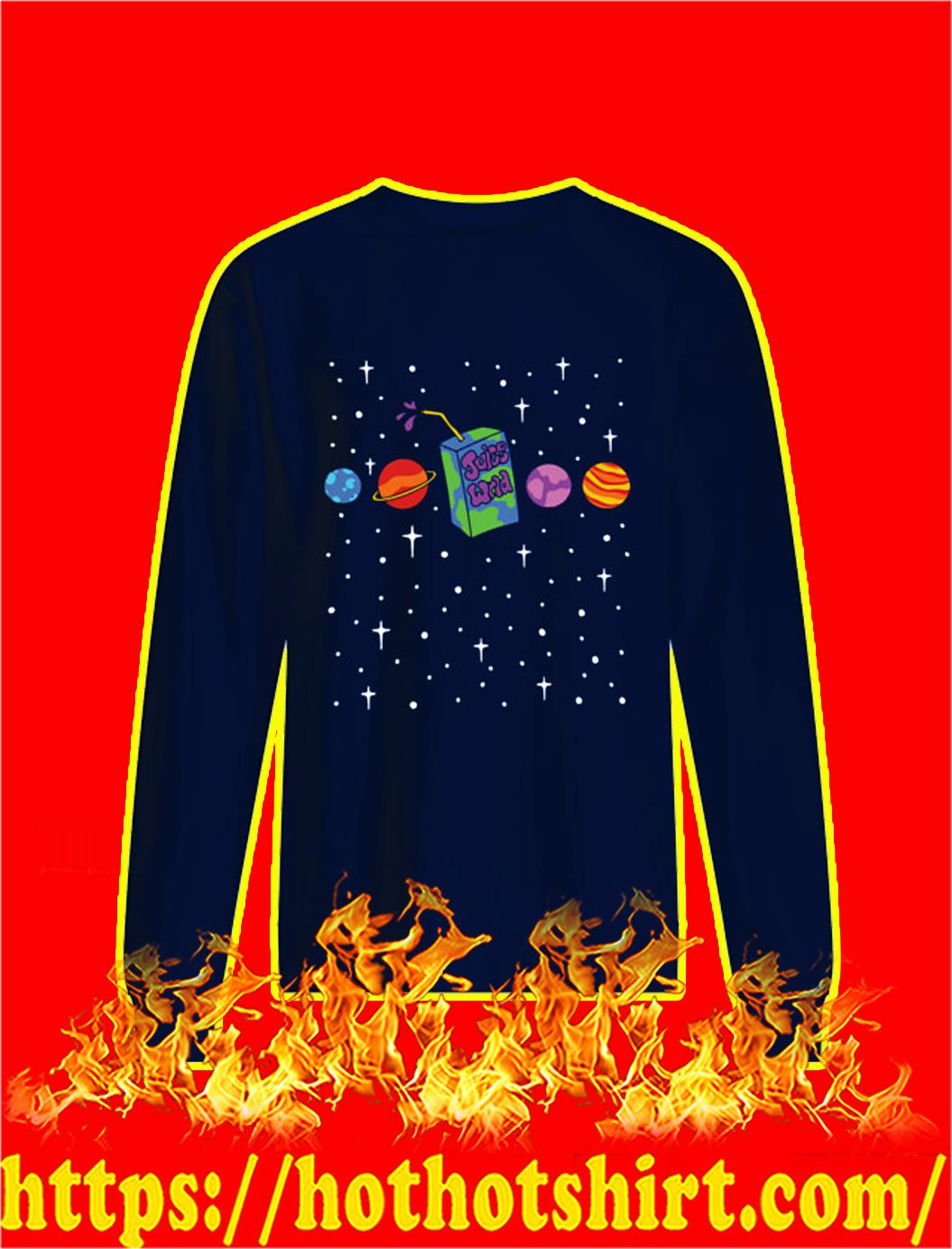 Juice Wrld Galaxy sweatshirt