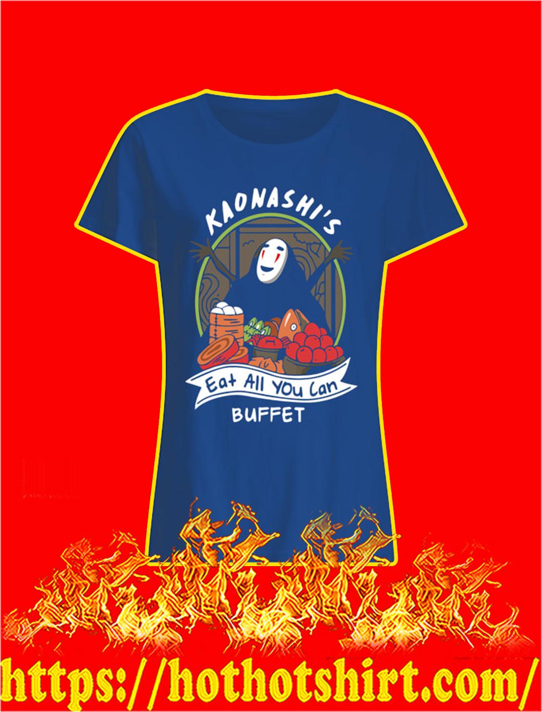 Kaonashi's Eat All You Can Buffet lady shirt