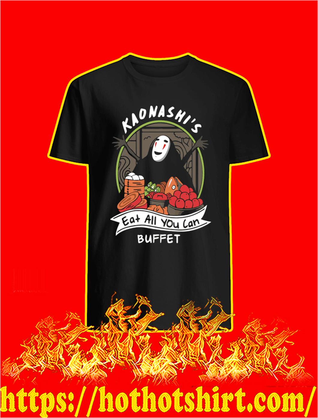 Kaonashi's Eat All You Can Buffet shirt