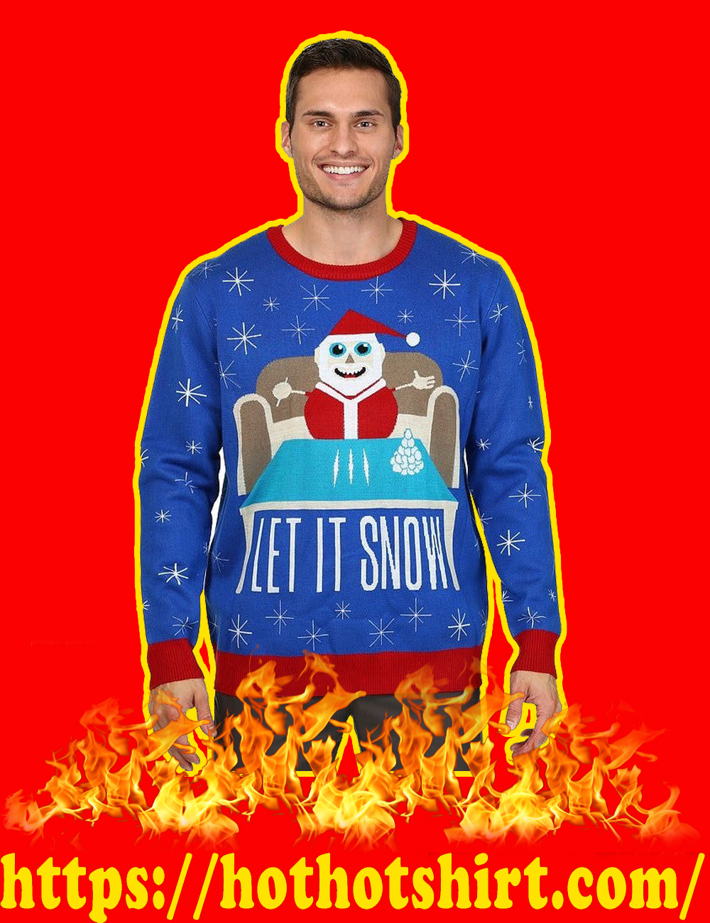 Let It Snow Christmas Sweater-picture 1
