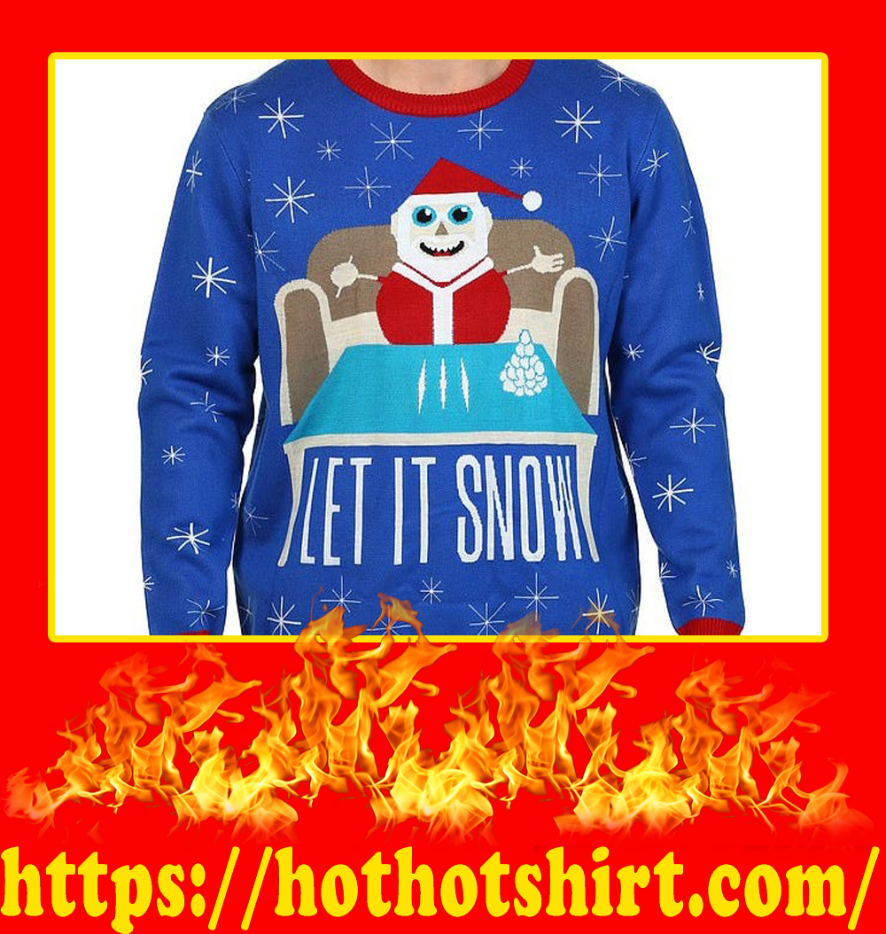 Let It Snow Christmas Sweater-picture 2
