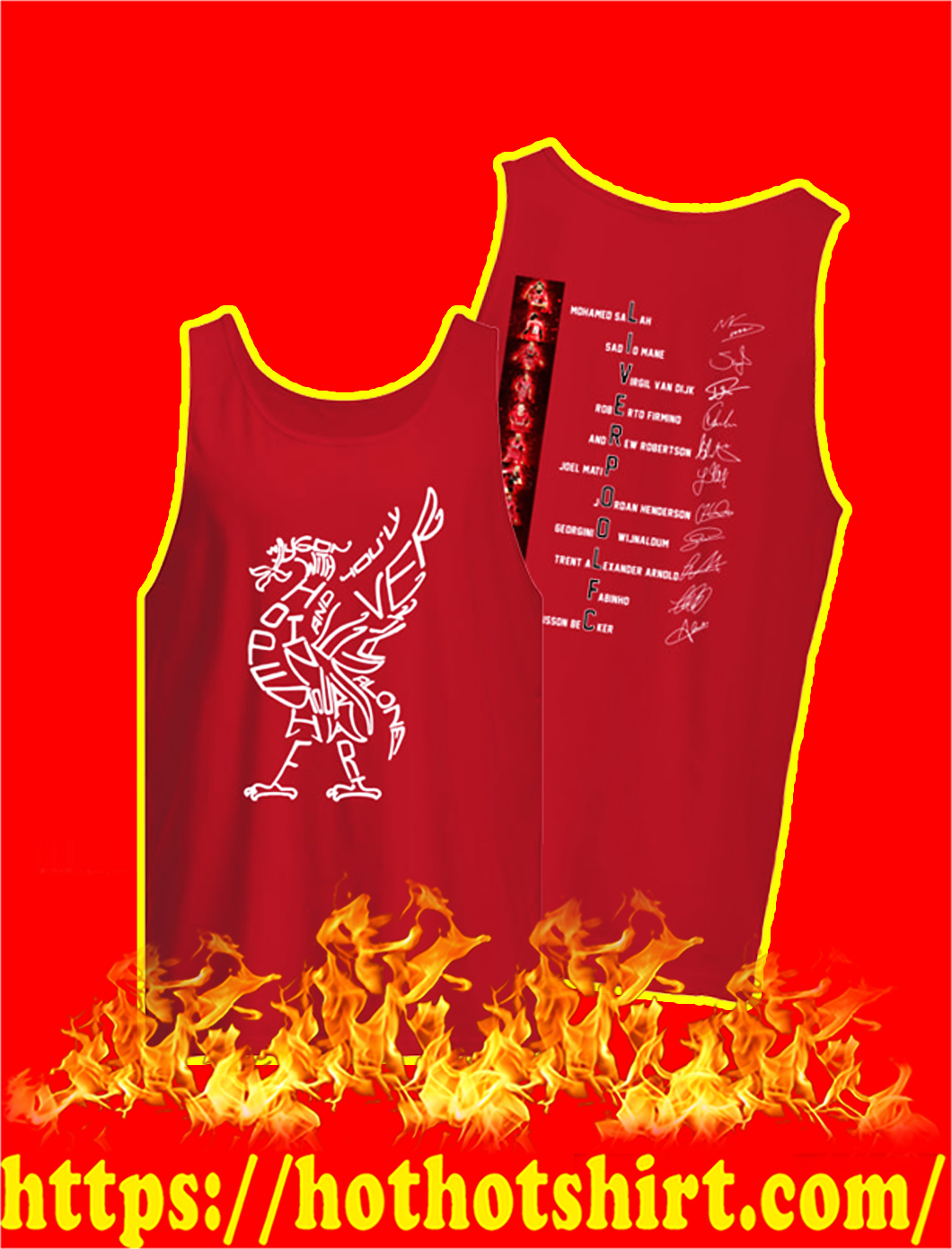 Liverpool FC Players Signature tank top