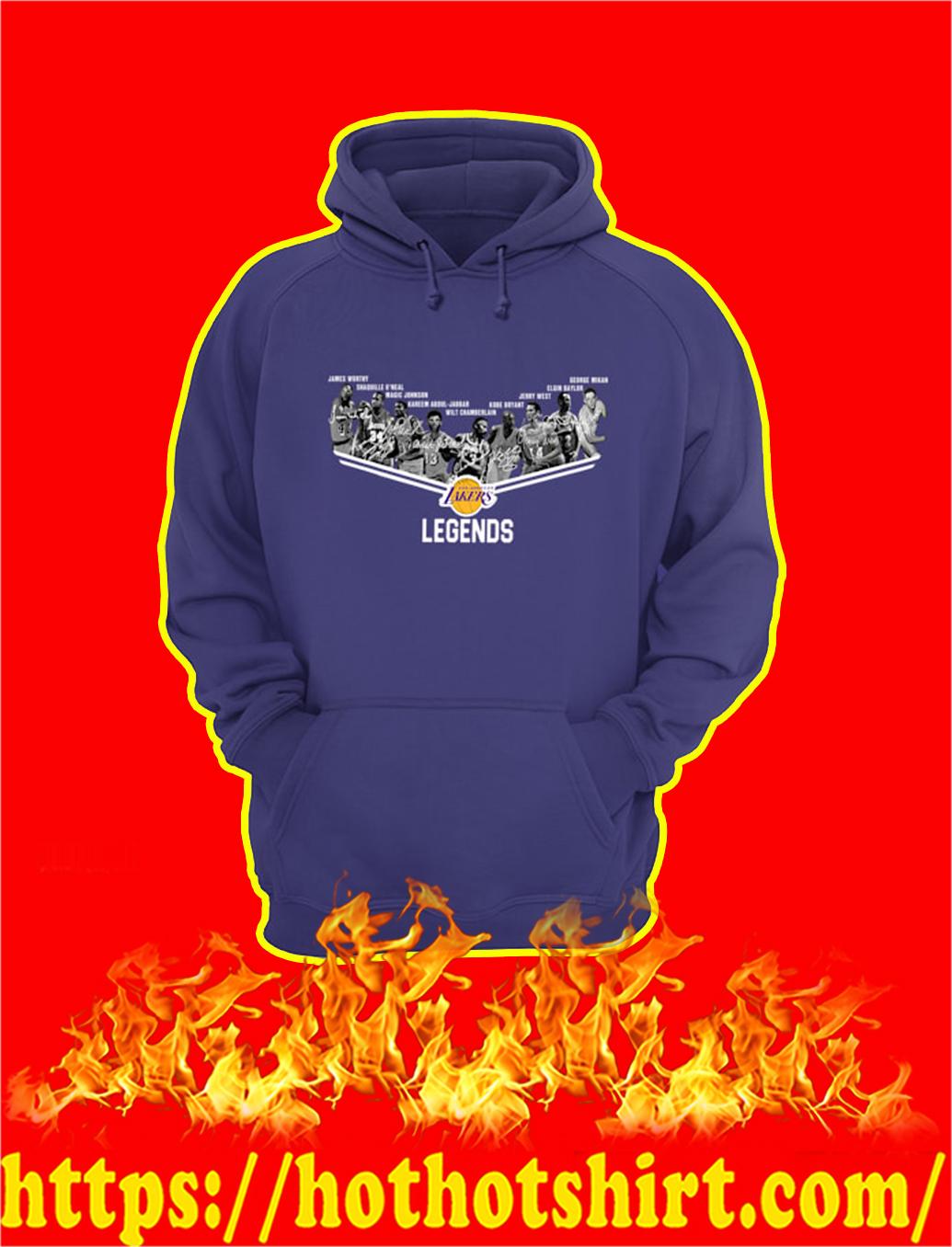 Los Angeles Lakers Legends Signature hoodie