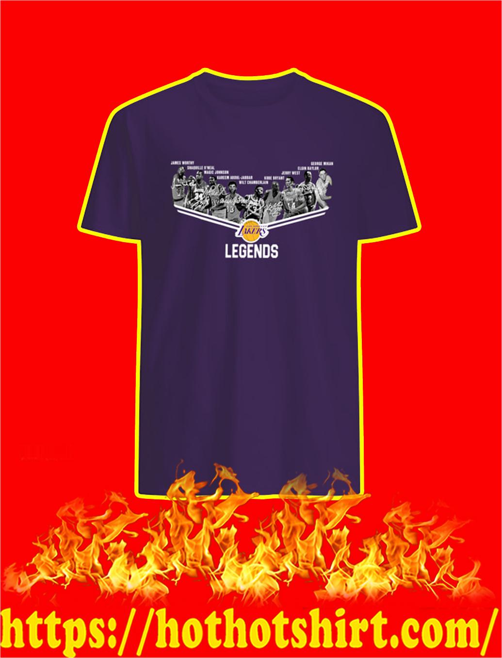 Los Angeles Lakers Legends Signature shirt