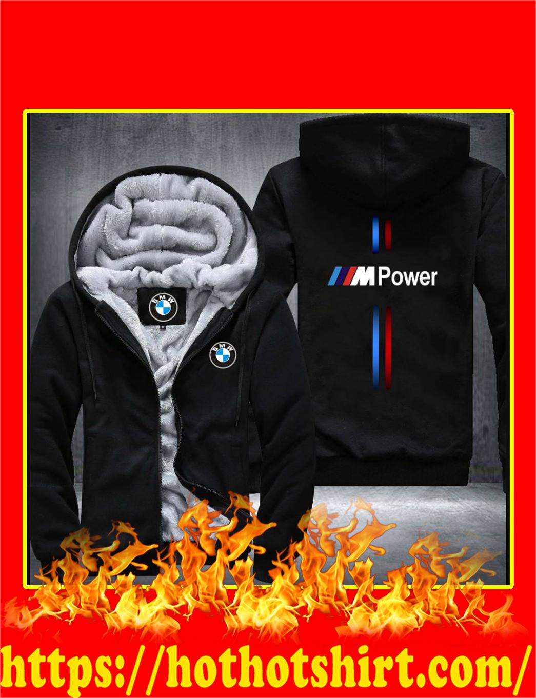M Power Fleece Zip Hoodie