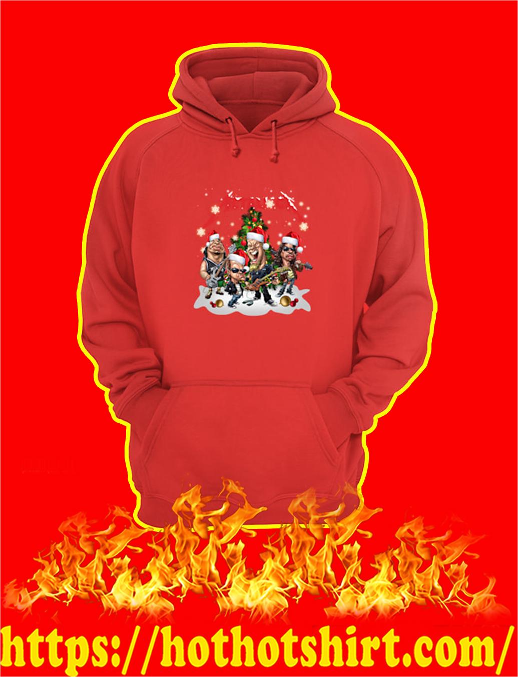 Metallica Santa Hat Christmas hoodie