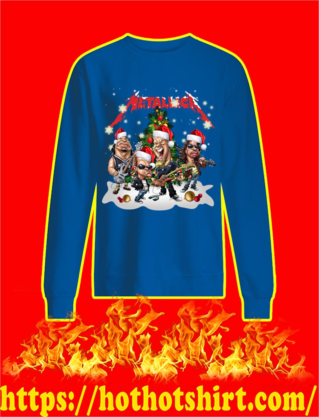 Metallica Santa Hat Christmas sweatshirt