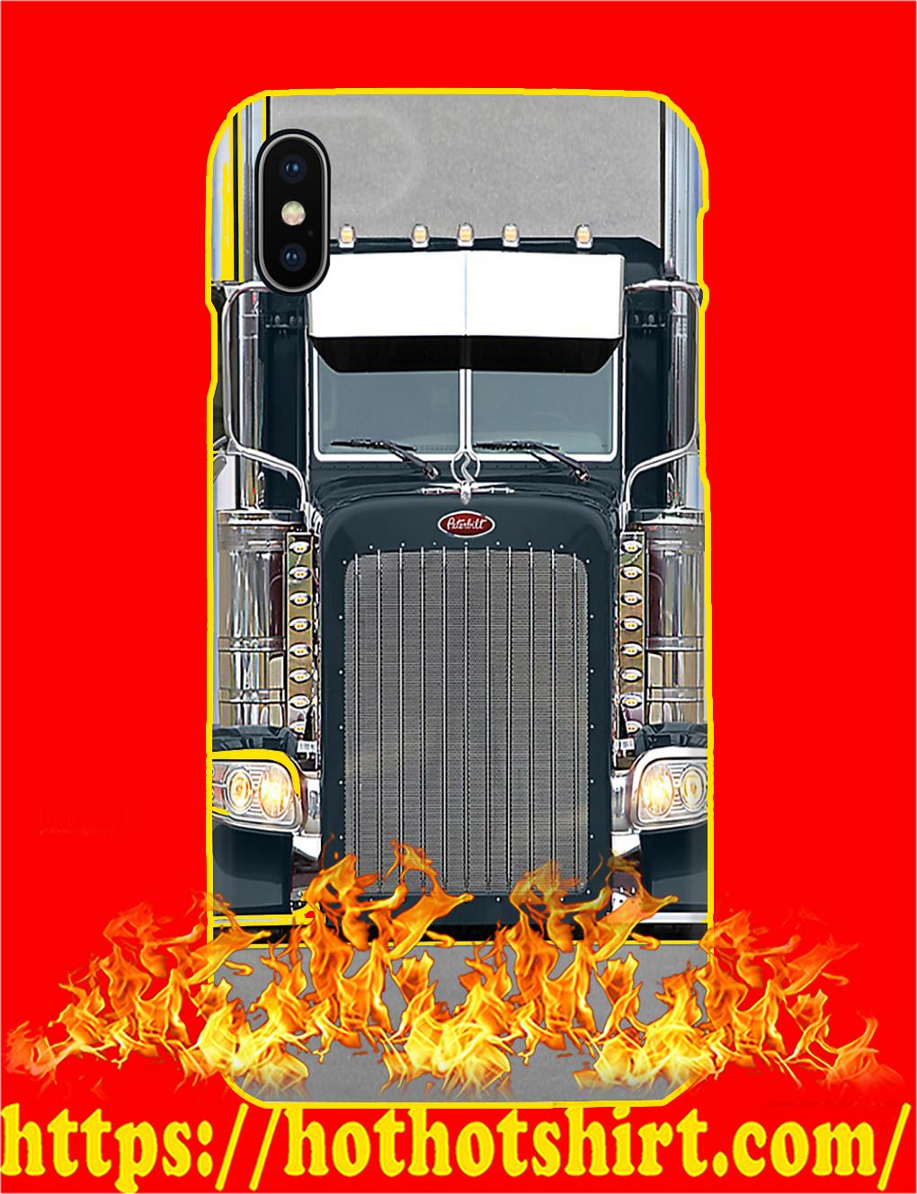 Peterbilt Truck Phone Case- iphone X