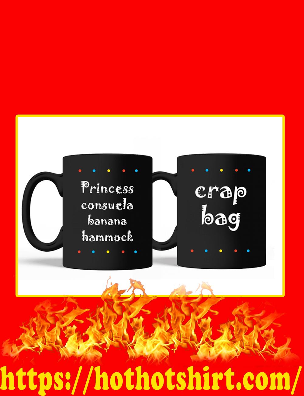 Princess Consuela Banana Hammock Crap Bag Mug-black