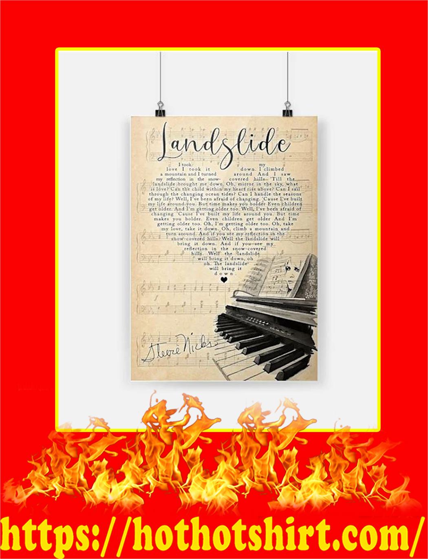 Stevie Nicks Landslide Poster - A2