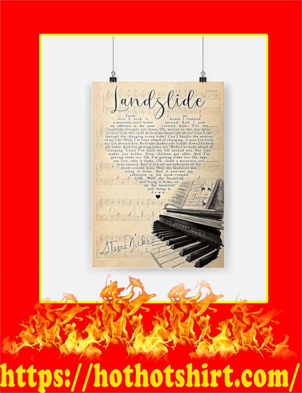 Stevie Nicks Landslide Poster
